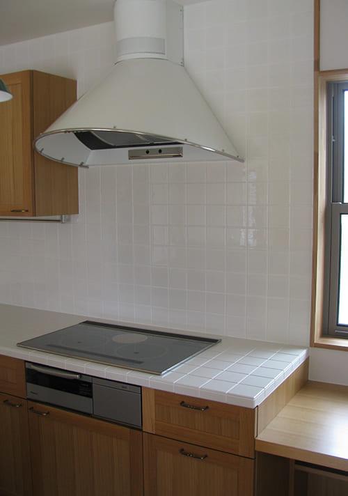 オーダーキッチン設計施工例