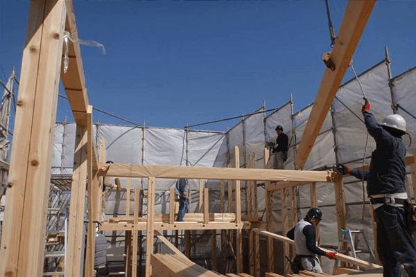 家ができるまでの流れ 上棟工事