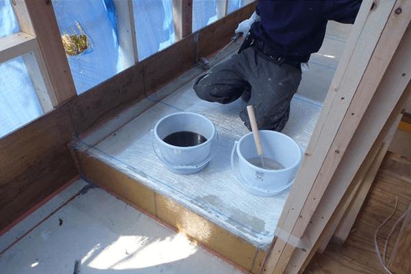 家ができるまでの流れ ベランダ防水工事