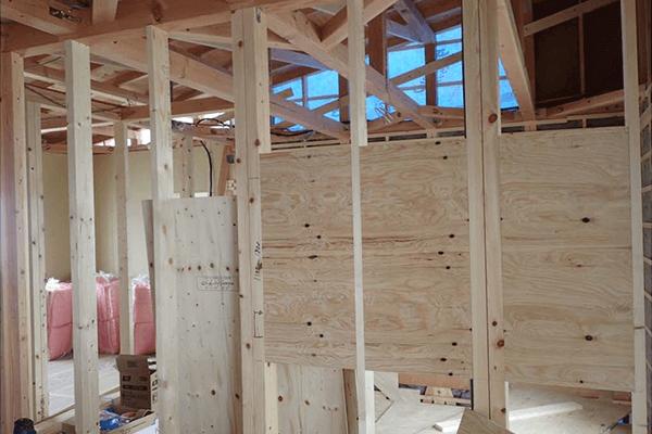 家ができるまでの流れ 壁内下地造作工事