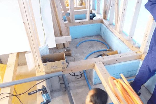 家ができるまでの流れ 給排水配管工事