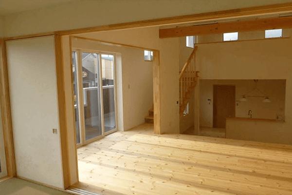 家ができるまでの流れ 内部建具設置