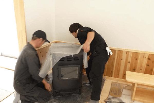 家ができるまでの流れ 暖房機器設置