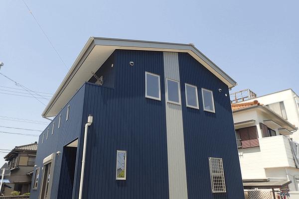 和民家デザインプラン 玄関・屋根デザイン
