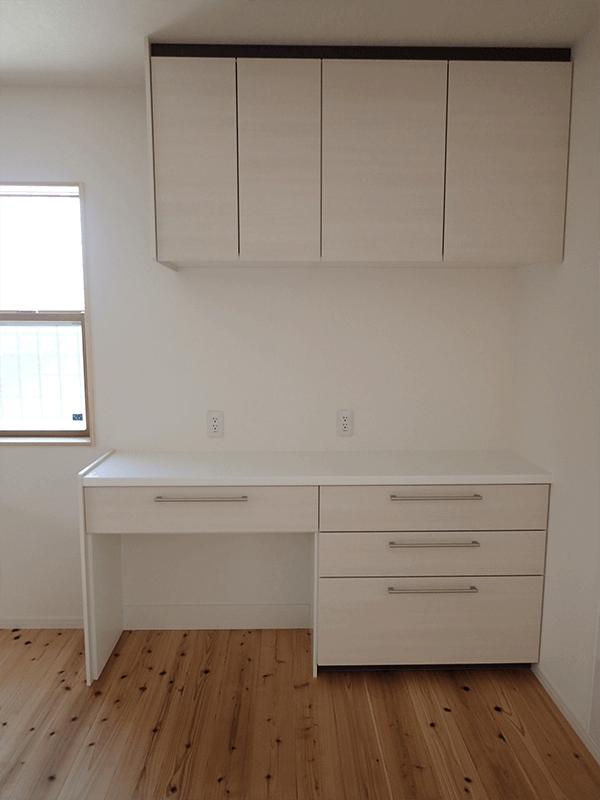 和民家デザインプラン キッチン収納