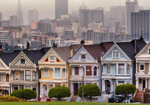 アメリカにおける住宅同じ間取りの住宅を、同時建築
